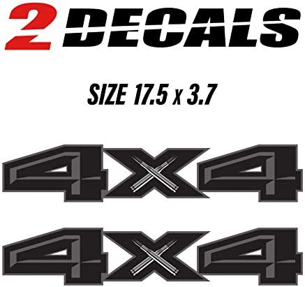 4x4 truck decals _image0