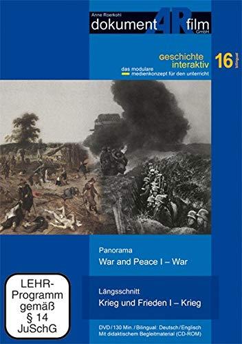 Längsschnitt Krieg und Frieden I / Panorama War and Peace I, 1 DVD