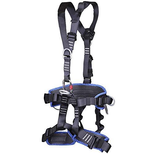 ZWWZ BAU Harness, Baum Kletterausrüstung Schutzausrüstung for die Üben Klettern, Outdoor-Aktivitäten, Abenteuer, Baumklettern, bequem, atmungsaktiv und hohe Sicherheit HAIKE