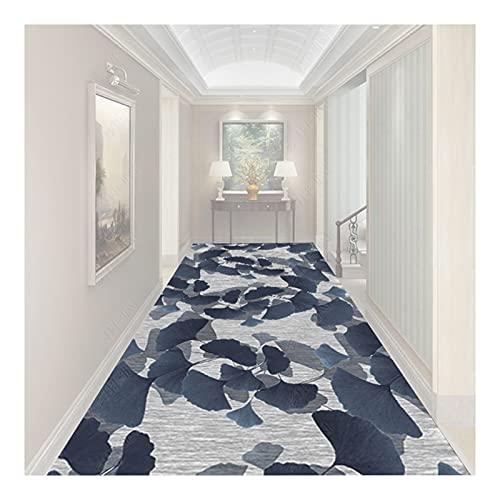 HAIPENG-alfombras pasillo, Hoja Albaricoque Cocina Sala Entrada Felpudos Estrecho Corredores Alfombras con Antideslizante, Lavable, Tamaño Personalizado (Color : Multi-Colored-B, Size : 1mx5m)