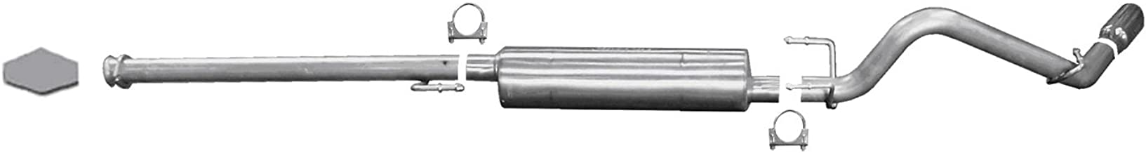 Gibson 618802 Stainless Steel Single Exhaust System