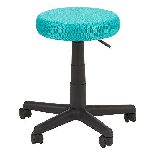 Norwood Commercial Furniture NOR-OUG1008FA-TL-SO Hocker, höhenverstellbar, bunt, Netzstoff, Blaugrün
