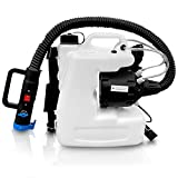 TOPCHOICE ULV Fogger Machine – 12L Disinfectant Fogger Backpack Sprayer – Portable and User-Friendly – Comfortable Strap – Ultra-Flexible Hose - for Indoor and Outdoor Us