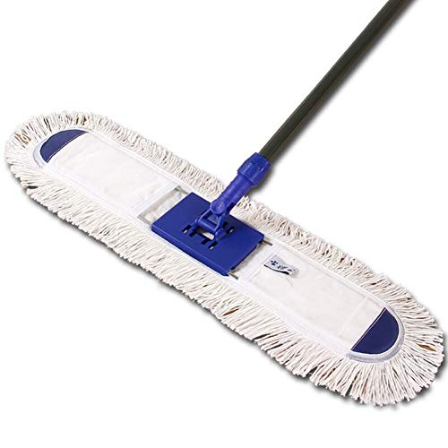 DIANZI Mop 60 Cm Flat Mop Vervang Mop Hout Vloer Water Absorptie Roterende Mop Paal Thuis Grote Mop