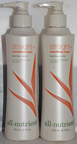 All-Nutrient Straight+ Smoothing Cream 8.4 oz (2 pack) by All Nutrient