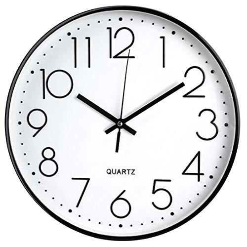 Tebery Horloge Murale sans tic-tac, Moderne,...