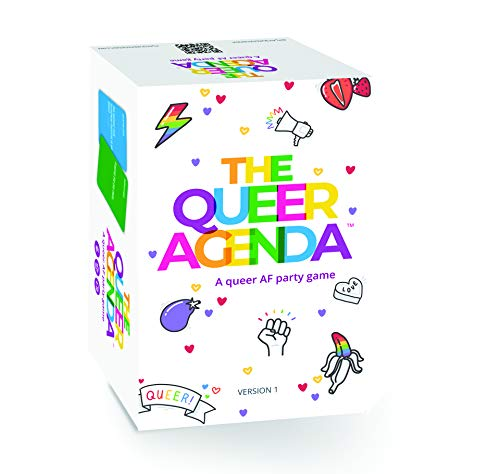 FITZ | The Queer Agenda Base Game | LGBTQ Gifts | Gay Games | A Brazen Party Game | 420 Sassy Cards...