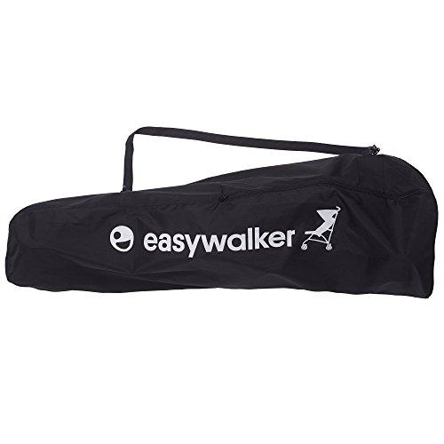 Easywalker - Bolsa de transporte para silla de paseo buggy negro