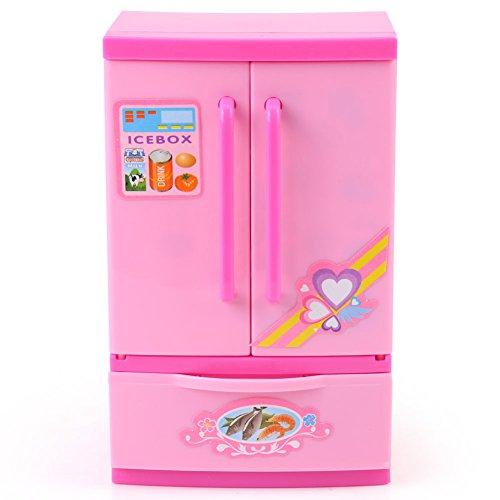 Mini frigorifero Frigorifero giocattolo per bambini, Simulazione Frigorifero mini giocattolo per bambini Giochi di ruolo Giocattolo educativo per giochi per bambini Elettrodomestico educativo