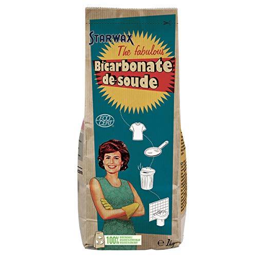 Starwax FABULOUS - Bicarbonato di sodio da 1 kg, ideale per pulire tutto in casa