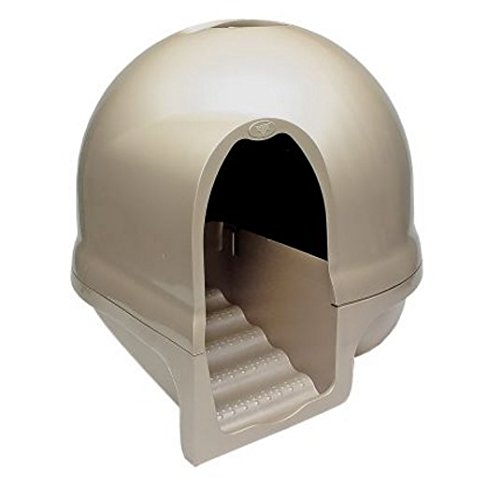 Elegante e pratico-Lettiera per gatto, Design innovativo per fermare la raccolta e la diffusione di mantenere la pulizia, motivo: zampe di gatto con filtro carboni attivi, vassoio, ideale per grandi Cat Breeds