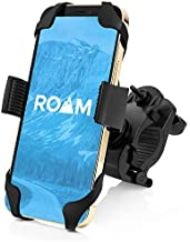 Roam Universal Bike Phone Mount for Motorcycle - Bike Handlebars, Adjustable, Fits All iPhone's, 12, 11, X, iPhone 8, 8 Plus, All Samsung Galaxy Phones, S21, S20, S10, Holds Any Phone Up to 3.5