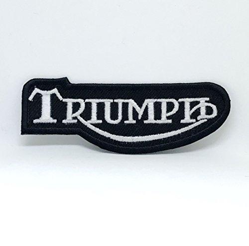 Parche bordado Triumph para coser en motocicleta Daytona Street Triple Bonneville