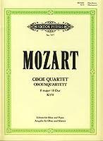 モーツァルト : オーボエ四重奏曲 ヘ長調 K370 (オーボエ、ピアノ) ペータース出版