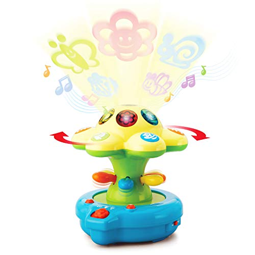 Happkid Baby Crib Toys Baby Soother Lights with Colored projections, Magical Lightshow Toys for Baby from 0 Month