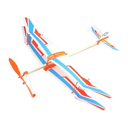 Ashley GAO Juguete Volador de Deportes al Aire Libre biplano eléctrico con...