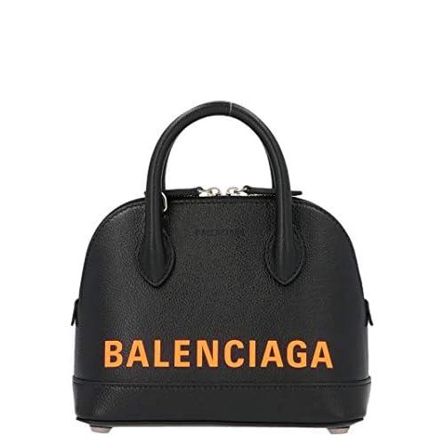 Balenciaga Luxury Fashion Donna 5506461IZ331075 Nero Pelle Borsa A Mano | Autunno-inverno 20