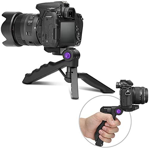 Altura Photo Mini Tripod for Camera w/Pistol Grip, Portable Small Tripod for DSLR & Mirrorless Cameras, Mini Tripod Stand w/Anti Slip Feet, Works as Desktop Tripod, Vlog Tripod, Table Tripod