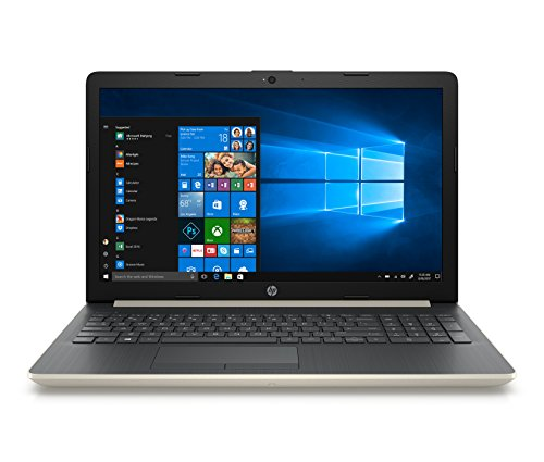 HP Laptop, Pantalla de 15″ HD, Procesador A9, 4GB RAM, 1TB HDD, Sistema operativo Windows 10, Color Pale…
