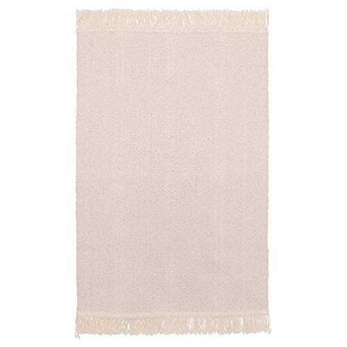 SORTSO Rug flatwoven Unbleached (21.7x33.5 inch)...