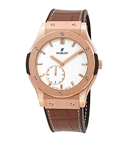 Hublot Classic Fusion Classico - Reloj de pulsera para hombre, oro rosa de 18 quilates, 42 mm, 545.OX.2210.LR
