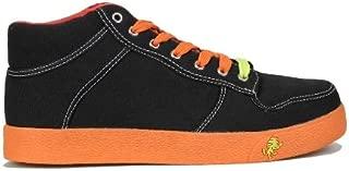 Vlado Footwear IG-1060-701-12 Mens Spectro 1 Shoes - Black & Orange, Size 12
