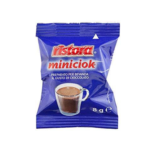 Ristora MINICIOK 25 capsule espresso point CIOCCOLATO bevanda al gusto di cioccolata
