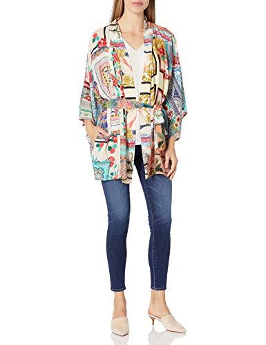 Johnny Was Damen Niah Kimono Hemd, Multi, Klein