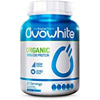 Ovowhite Organic 100% Egg Protein (Natural) - 453 gr Natural