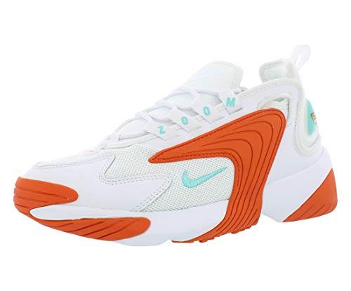 Nike Damen WMNS Zoom 2k Traillaufschuhe, Mehrfarbig (White/Light Aqua/Cosmic Clay 105), 38 EU