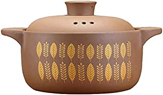 BLLXMX Casseroles Household Ceramic Casserole With Lid Soup Pot (multi-size Optional) (Size : 2.5L)