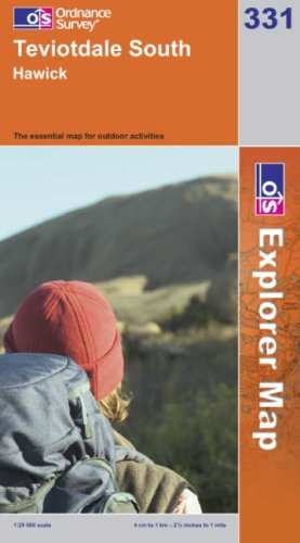 OS Explorer map 331 : Teviotdale South