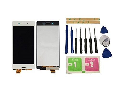 Flügel para Sony Xperia X F5121 F5122 Pantalla LCD pantalla Blanco Táctil digitalizador Asamblea Pantalla ( sin marco ) de Recambio & Herramientas