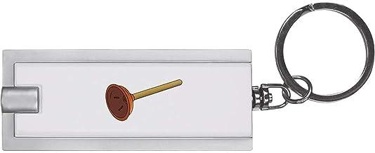 'Wc ontstopper' Sleutelhanger LED-Zaklamp (KT00021246)
