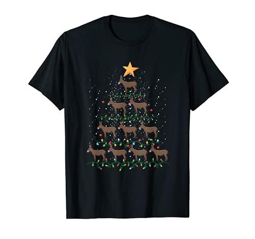 Donkey - Adornos para árbol de Navidad, diseño de animales de Navidad Camiseta