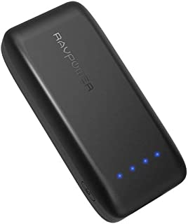 RAVPower Portable Charger 6700mAh Power Bank External Battery Pack (iSmart 2.0 Technology, 2.4A Output and 2A Input) For i...