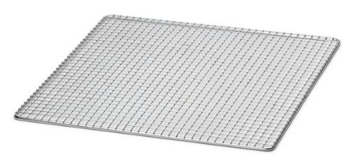 """Royal Industries Square Fry Screen, 13 3/4"""", Silver"""