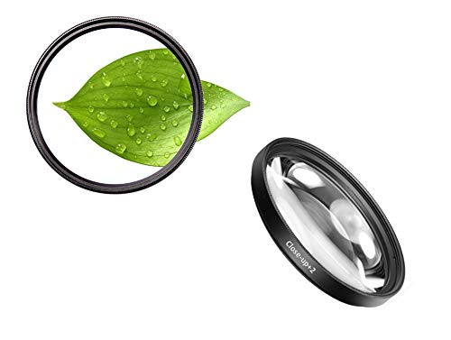 62 mm + 2 close-up filters macrolens close-up closeup 62 mm dioptrieën