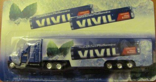 Vivil Nr. - Natürliches Pfefferminz ohne Zucker - Peterbilt - US Sattelzug