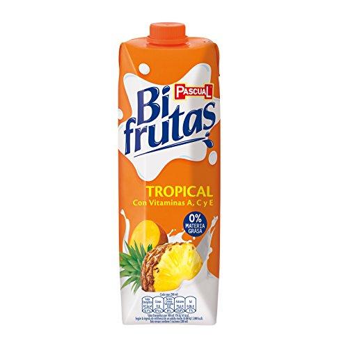 Pascual Bifrutas - Zumo de frutas, tropical, 1l