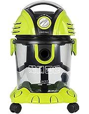 Cecotec Aspirador de sólidos y líquidos Wet&Dry. 1400 W, Aspira Todo Tipo de Suciedad, Radio de acción 7 m, Sin Bolsas, Depósito de 15 L con Filtro de Agua, Función sopladora, Accesorios