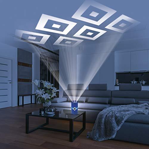 HSV LED-Echtwachskerze - Mit rotierender HSV-Logo-Projektion