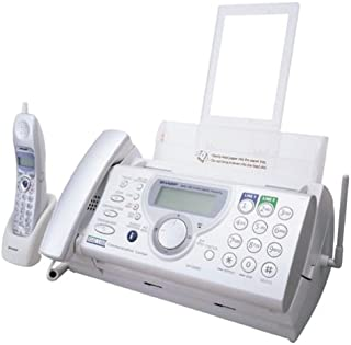 Sharp UX-CD600 2-Line Fax Communication Center with Corded and Cordless Phones and Answering Machine