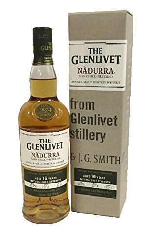 The Glenlivet 16 Years Nadurra Natural Cask Strength 60,2% 0,7l Flasche