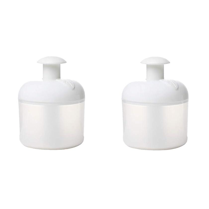 OUNONA 洗顔泡立て器 マイクロバブルフォーマー 洗顔用 洗濯簡単 携帯便利 2個入(ホワイト)