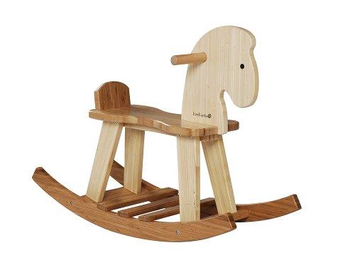 EverEarth EE33559 Cavallo A Dondolo Bambu