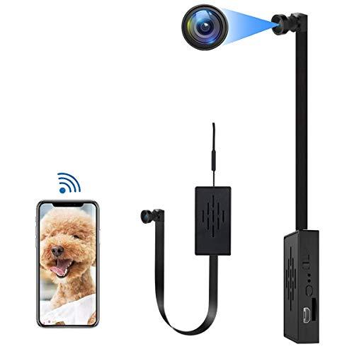 4K WiFi Hidden Camera-Battery spy Camera-spy Camera Module-DIY Hidden Camera-Hidden Camera Module-Mini spy Camera 1080P-hidden spy Camera-Hidden Nanny Camera-Hidden spy Camera (Lens 90°)