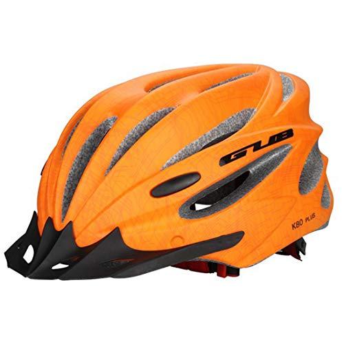 OLEEKA Zyklus Fahrradhelm Einstellbare Sicherheit Fahrradhelm, Männer Frauen Scooter Helm mit Visier/Brille, Schwarz/Grün/Rot