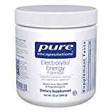 Pure Encapsulations - Electrolyte/Energy Formula - Hypoallergenic Supplement to Support Physical and Mental Stamina - 12 Ounces