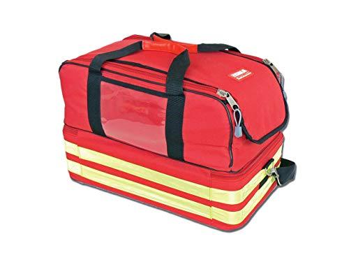 Gima Life-27161 Ambulanztasche, rot, groß, mit vielen Fächern, für Notfälle, Erste Hilfe und medizinische Erstbetreuung, 47,5x33x30cm